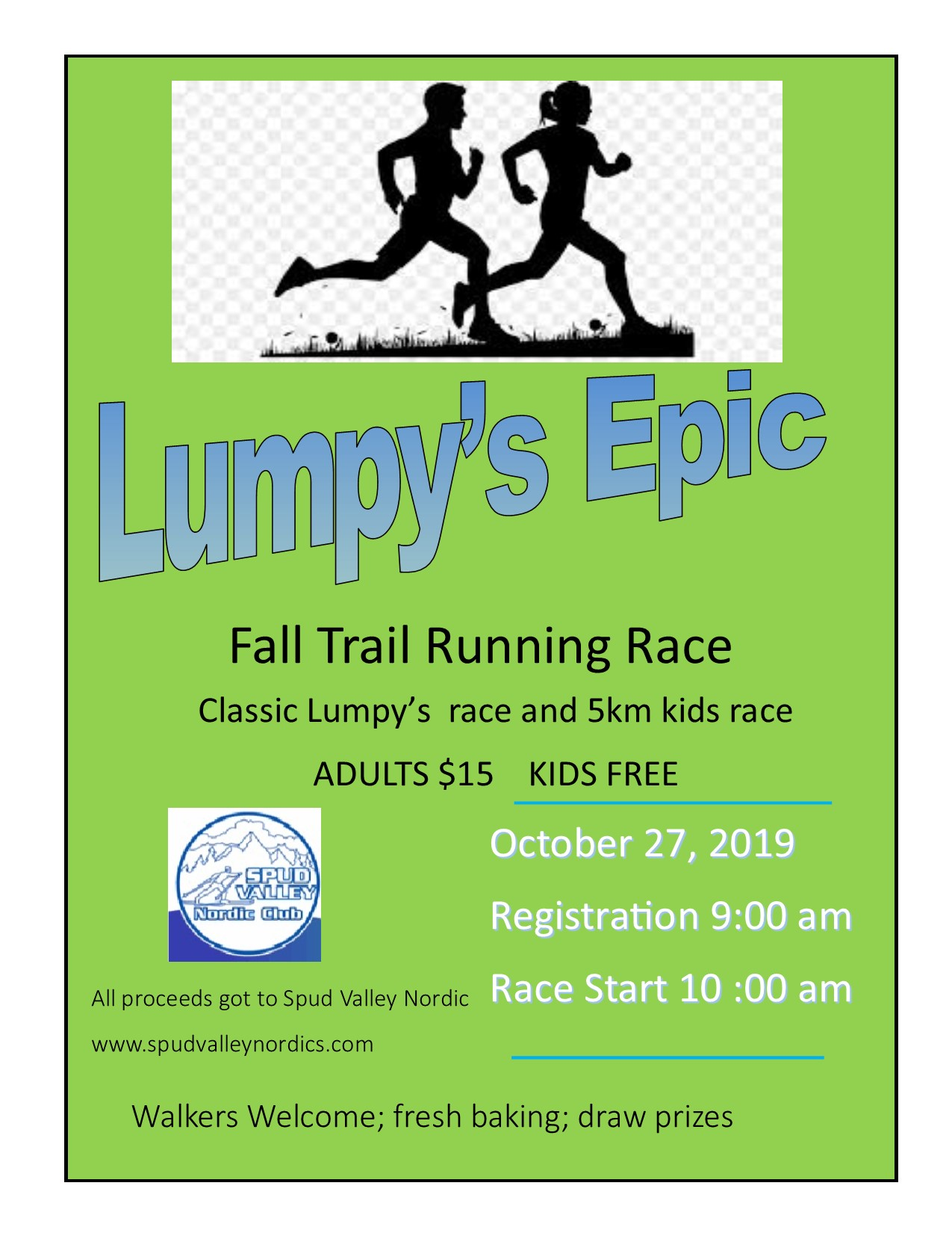 Lumpys Race correct