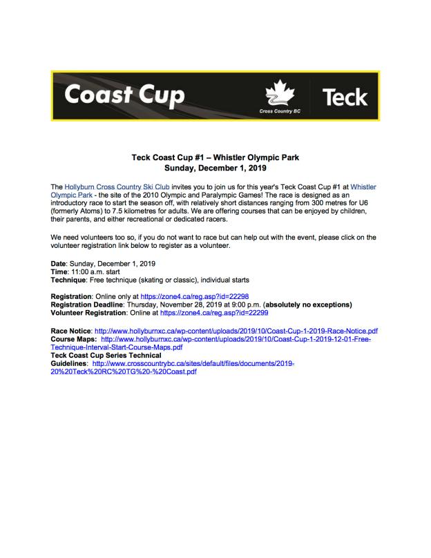 Teck Coast Cup